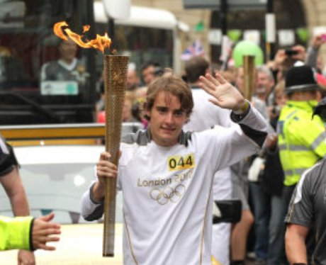 Olympic Torch Northampton