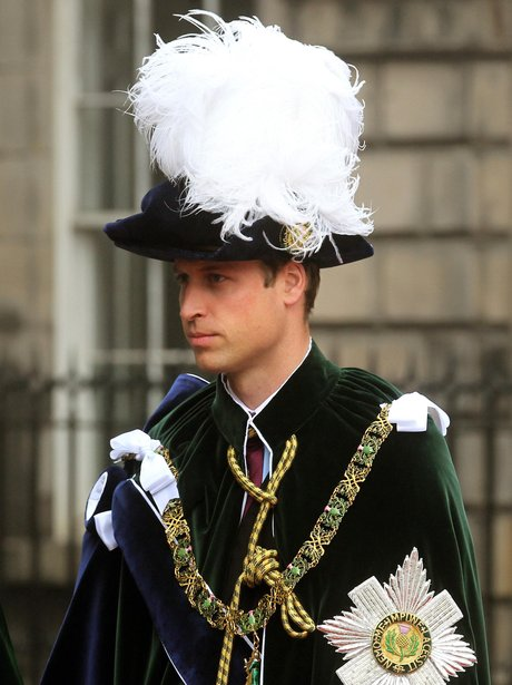 The Duke Of Cambridge Is Installed As A Knight Of