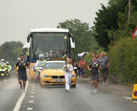 The Olympic Torch: Aldeburgh
