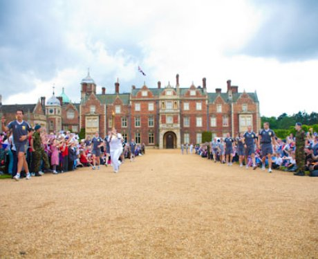 The Olympic Torch Comes to Sandringham