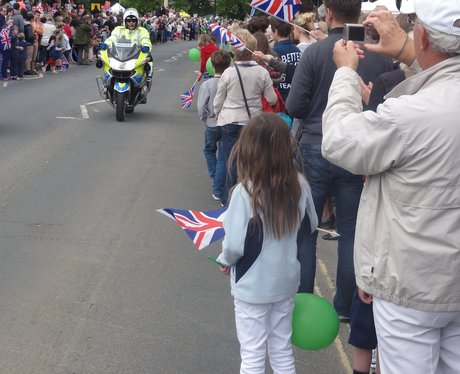 The Olympic Torch Relay Day 44: Broadway