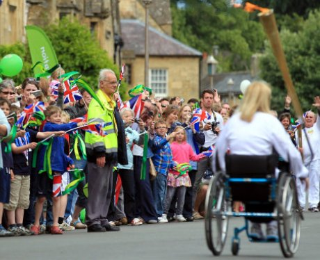 The Olympic Torch Relay Day 44: Evesham / Broadway