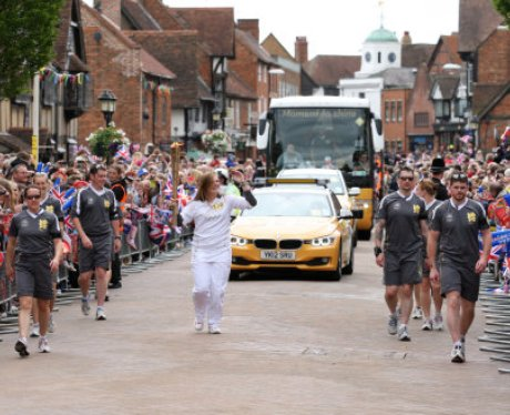 The Olympic Torch Relay Day 44: Stratford