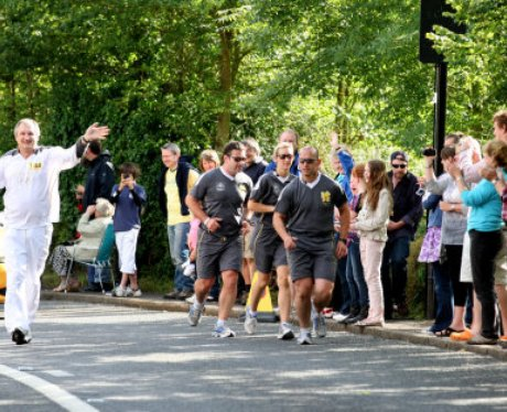 The Olympic Torch Relay Day 44: Towards Coventry