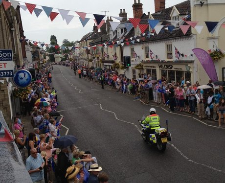 The Olympic Torch: Saxmundham