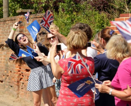 The Olympic Torch: Woodbridge