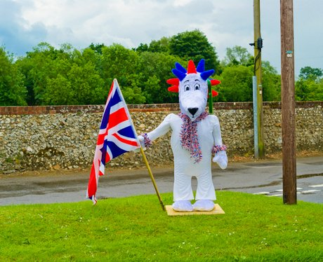 The Torch Comes to East Rudham