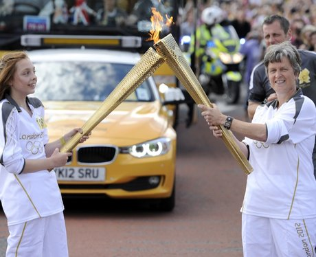 Olympic Torch - Grays