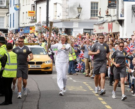 Olympic Torch - Hertford