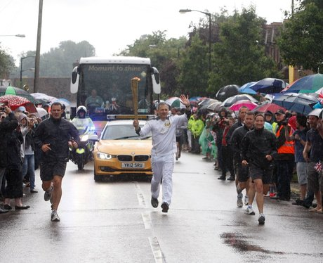Olympic Torch - Newport