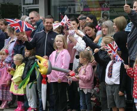 Olympic Torch - Rayleigh