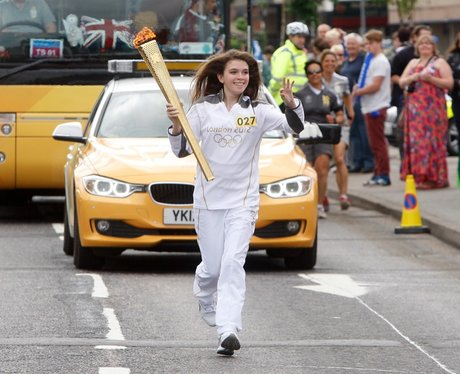 Olympic Torch - Lee Valley