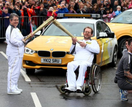 Bedford Olympic Torch