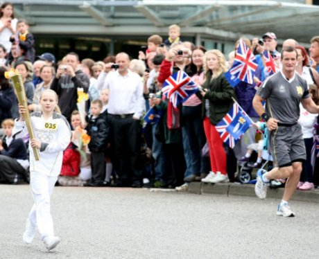 Bletchley Olympic Torch