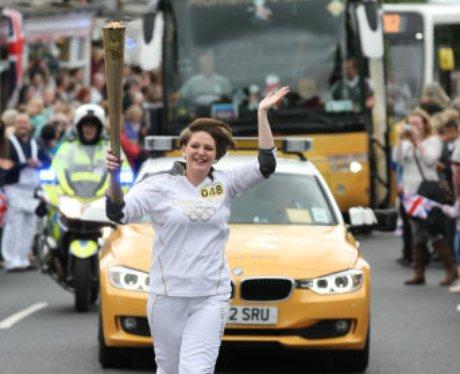 Buckingham Olympic Torch relay