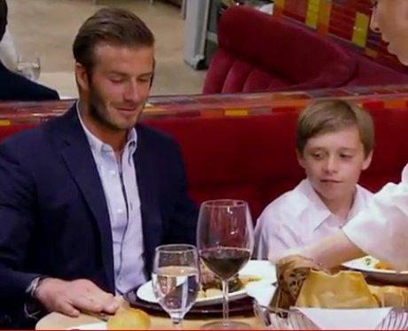 David Beckham on Hells Kitchen