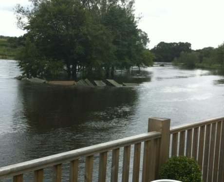 Flooding in Longham