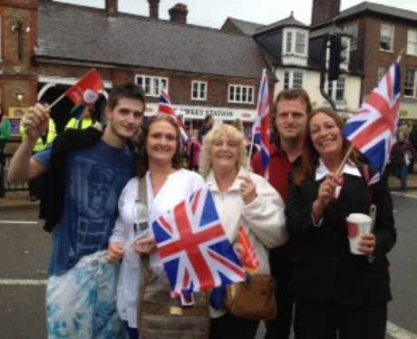 Dunstable Olympic Torch