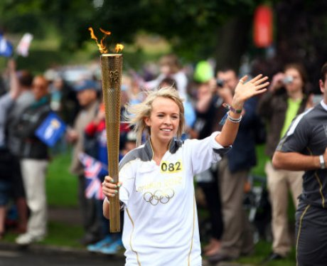 Olympic Torch - Hatfield