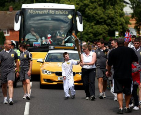 Olympic Torch - Hatfield