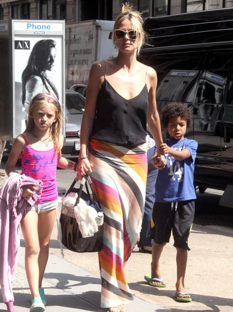 Heidi Klum and children