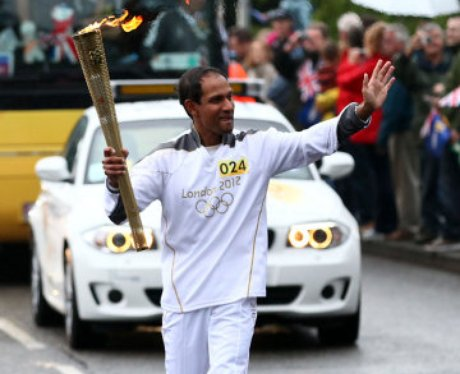 Huntgindon Olympic Torch