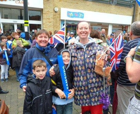 Huntingdon Olympic Torch