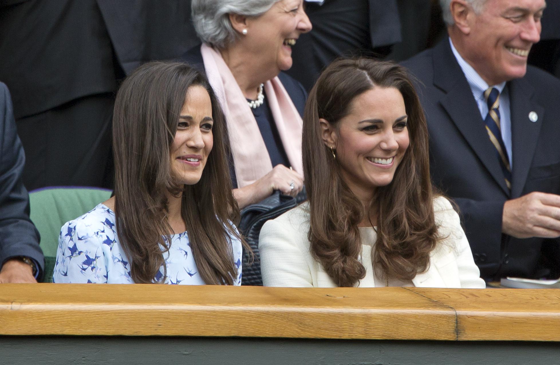 Kate & Pippa Middleton Wimbledon