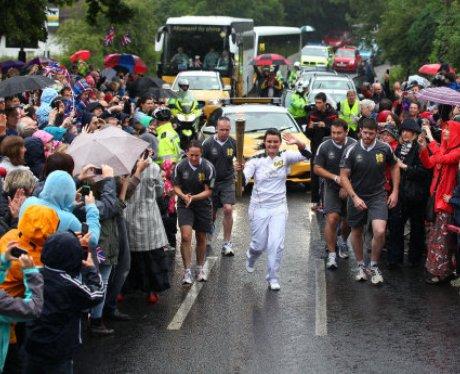 Letchworth Olympic Torch