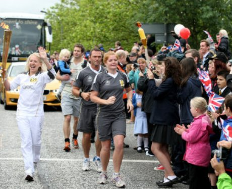 Milton Keynes Torch Relay