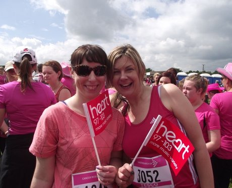 Newbury Race For Life 2012 Pink Ladies