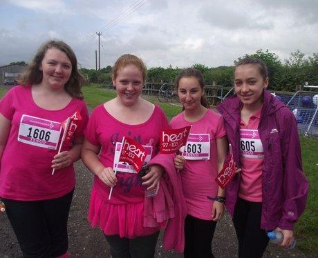 Newbury Race For Life 2012 Pink Ladies