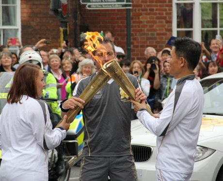 Olympic Flame July 10th - Heart Angel Photos
