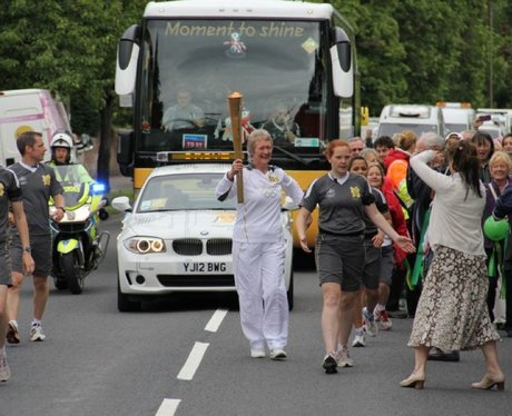 Olympic Flame July 10th