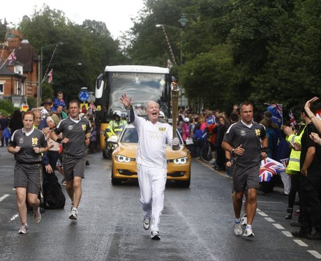 Olympic Torch in Ascot