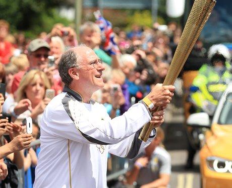 Olympic Torch in Basingstoke