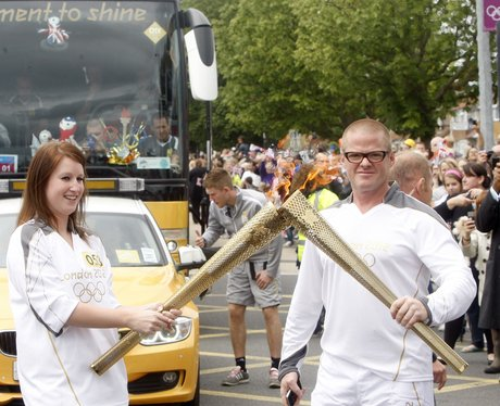 Olympic Torch in Burnham and Slough
