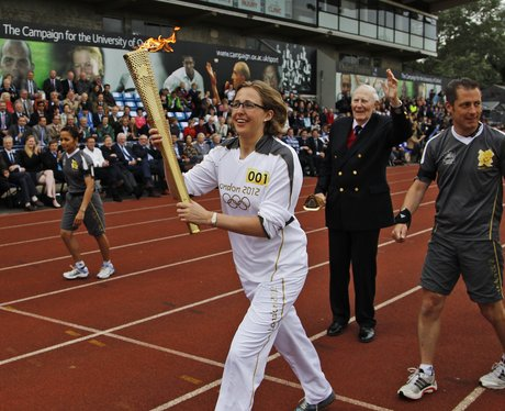 Olympic Torch in Henley