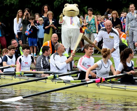 Olympic Torch in Bisham