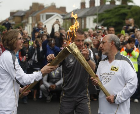 Olympic Torch in Oxford & Abingdon