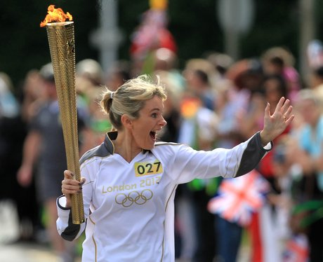 Olympic Torch in Reading