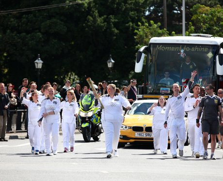 Olympic Torch in Thatcham and Newbury