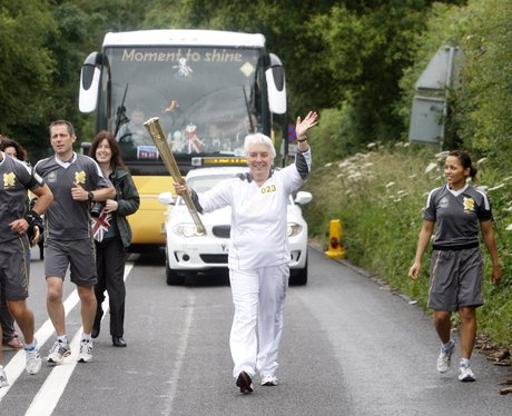Olympic Torch in Wallingford