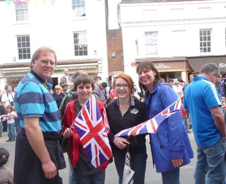 Olympic Torch in Winchester
