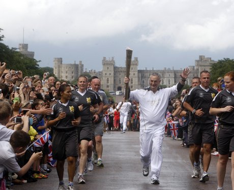 Olympic Torch in Windsor