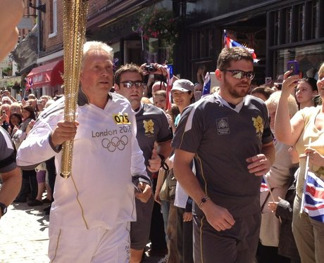 Olympic Torch Relay - Winchester