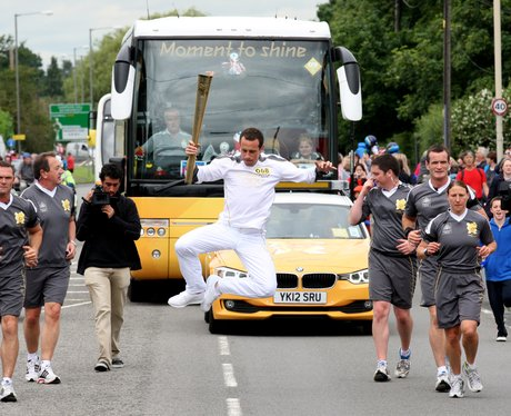 Olympic Torch Relay Aylesbury and Stoke Mandeville