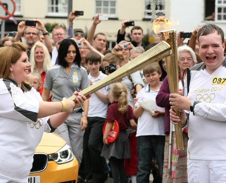 Olympic Torch Relay Bicester and Woodstock.