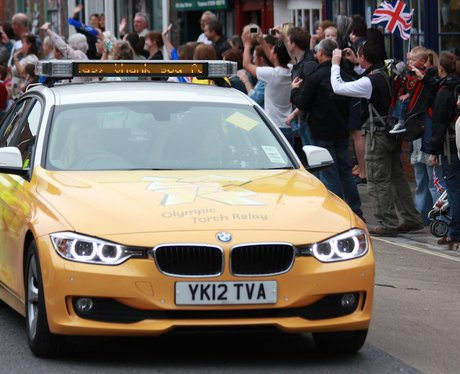 Olympic Torch Relay in Blandford Forum