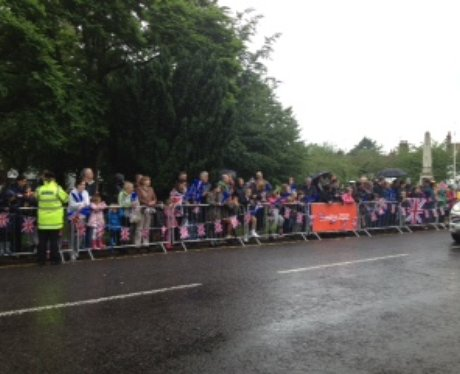 Stevenage Olympic Torch